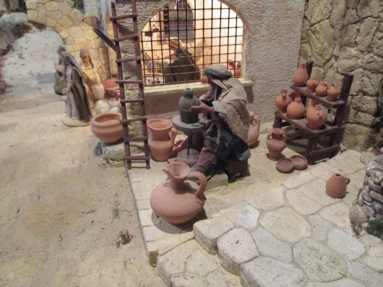 Presepe di Traversagna - Il Vasaio