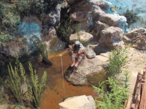 Presepe di Traversagna, - Il Pescatore