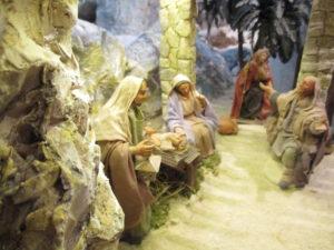 Presepe di Traversagna, - La Natività