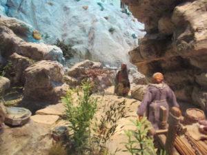 Presepe di Traversagna - Sentiero fra le rocce