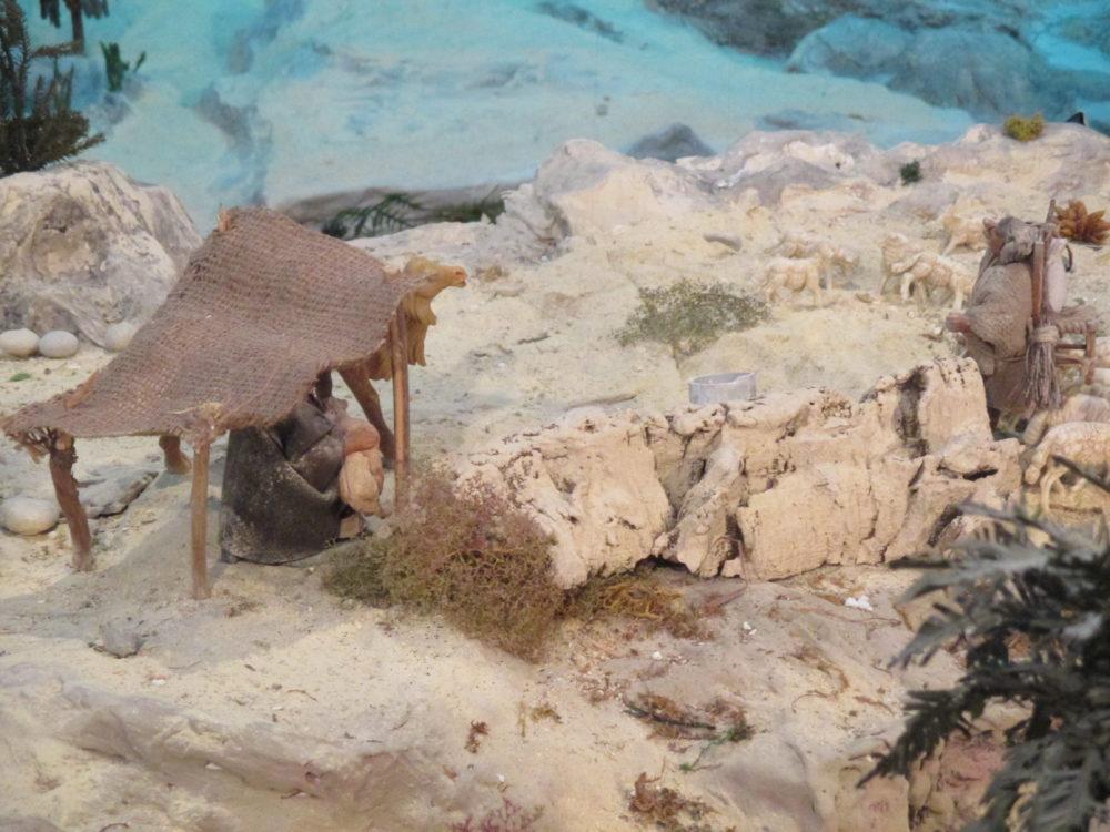 Presepe di Traversagna -Tenda dei Pastori
